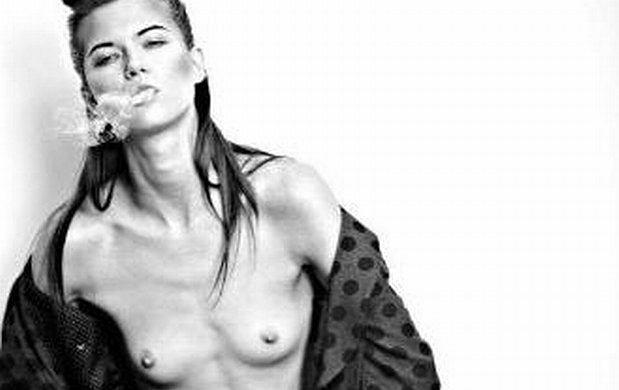 Kasia Struss, piersi, topless