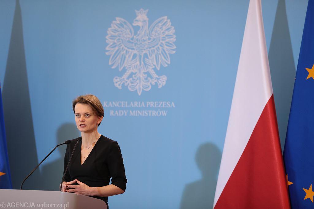 Jadwiga Emilewicz zapowiedziała wprowadzenie bonu turystycznego