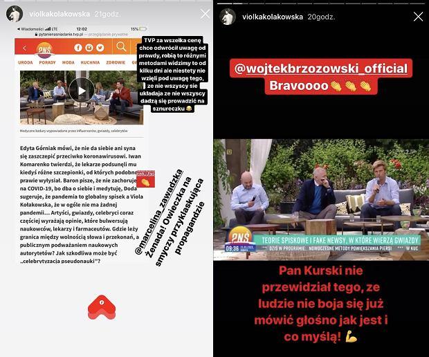 Viola Kołakowska o awanturze w 'Pytaniu na śniadanie'