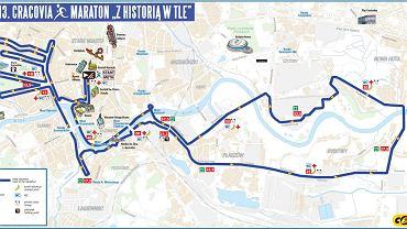 Trasa 13. Cracovia Maraton