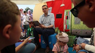 Mateusz Morawiecki na pikniku w Mroczy