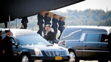 23 lipca na lotnisku wojskowym w Eindhoven wylądowały dwa samoloty z ciałami 40 ofiar malezyjskiego boeinga zestrzelonego nad Ukrainą