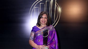 Kiran Mazumdar-Shaw z nagrodą EY Entrepreneur Of The Year 2019