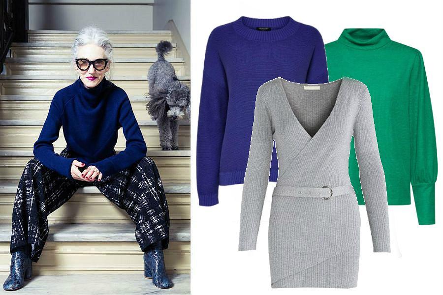 ec7b93ab Swetry damskie dla dojrzałych kobiet - te modele uwydatnią walory i ...
