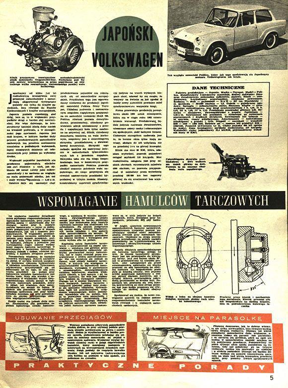 Pierwszy polski artykuł o Toyocie z 1961 roku