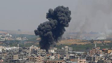 Nalot na miasto Gaza
