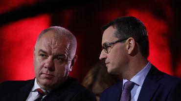 Mateusz Morawiecki i Jacek Sasin