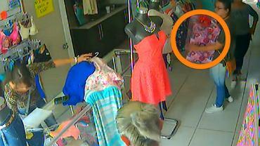 Złodziejki opracowały sprytny sposób na wynoszenie ubrań ze sklepu