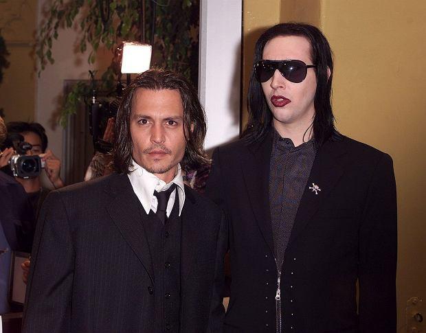 Johnny Depp, Marylin Manson