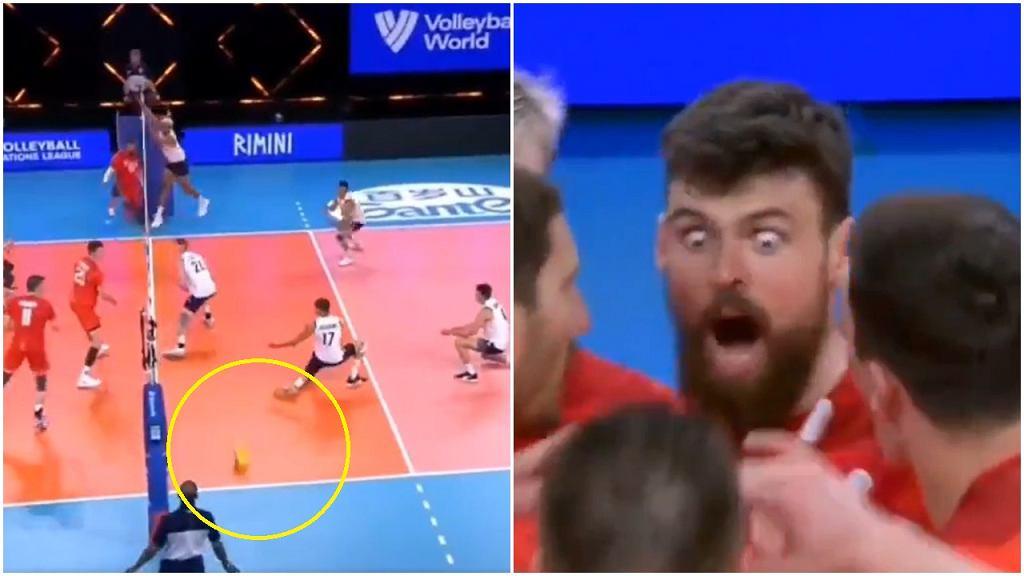 Atak Jegora Kliuki w meczu Rosja - USA
