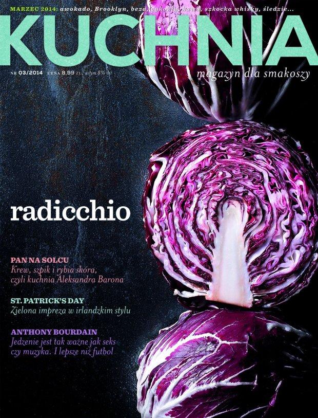 Marcowy numer magazynu Kuchnia już w sprzedaży! Zajrzyjcie koniecznie - mamy dla Was więcej stron, więcej ciekawych przepisów i - jeszcze więcej do poczytania