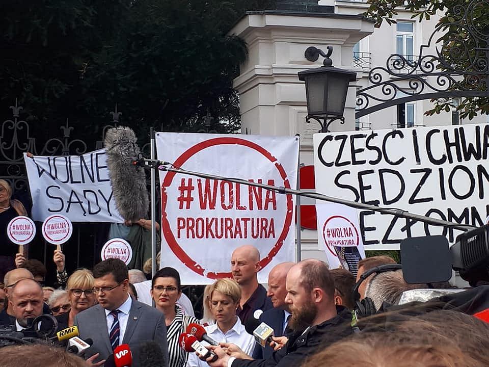 Konferencja sędziów ws. afery Łukasza Piebiaka