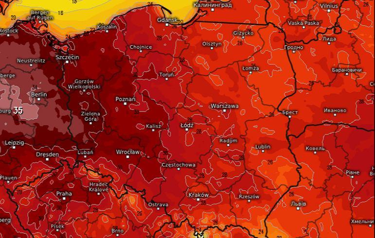 Upały w Polsce