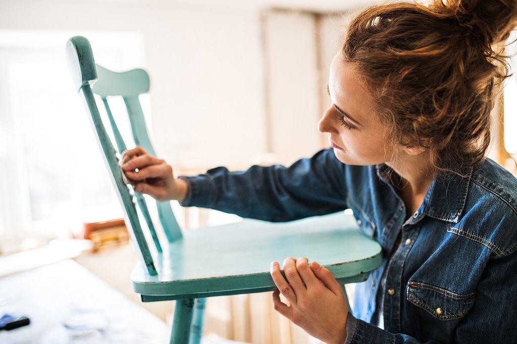 Odnawianie krzesła
