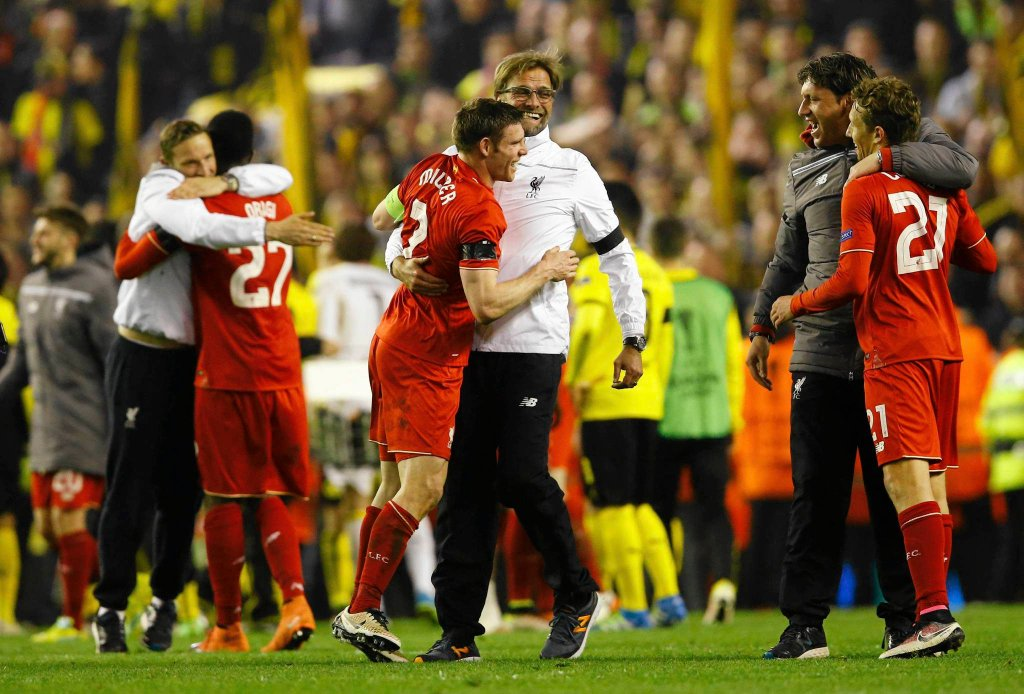 Liverpool - Borussia. Youtube