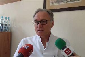 Prof. Tomasz Szydełko o operacji wszczepienia sztucznego zwieracza do cewki moczowej