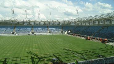 Budowa stadionu miejskiego, czerwiec 2014