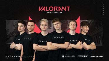 Anonymo z nową drużyną VALORANTA