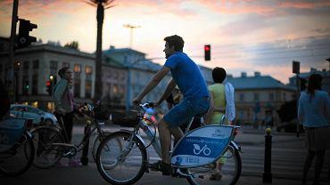 Rowery systemu Veturilo cieszą się ogromnym zainteresowaniem w Warszawie