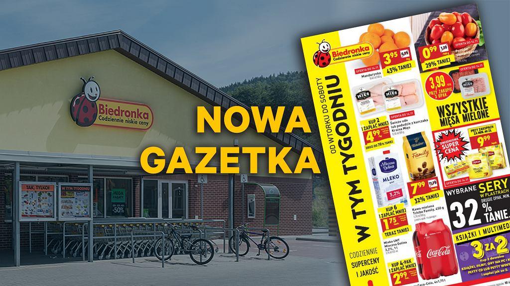 Gazetka Biedronka 13.11.2018