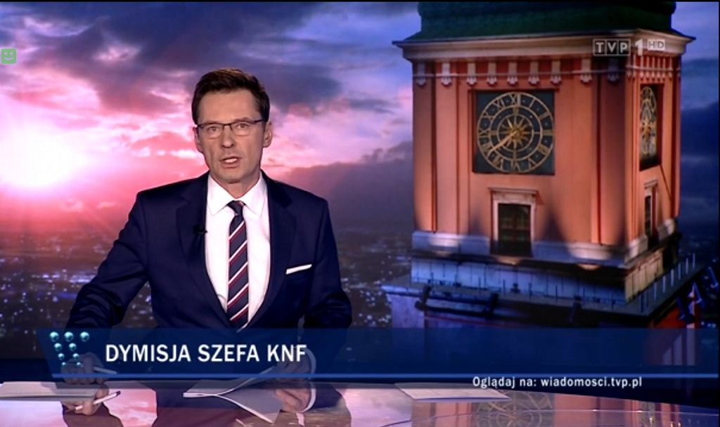 Materiał o KNF w 'Wiadomościach' TVP