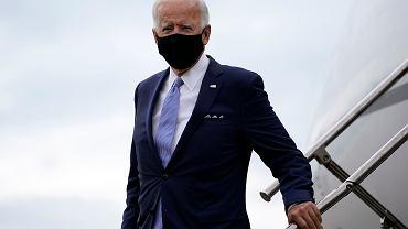 Kandydat na prezydenta USA Joe Biden na kampanijnym szlaku. West Mifflin, 31 sierpnia 2020