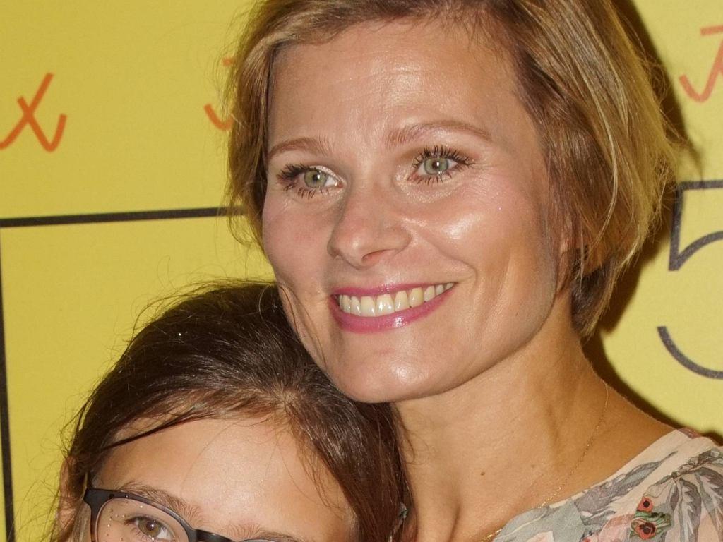 Anna Głogowska z córką