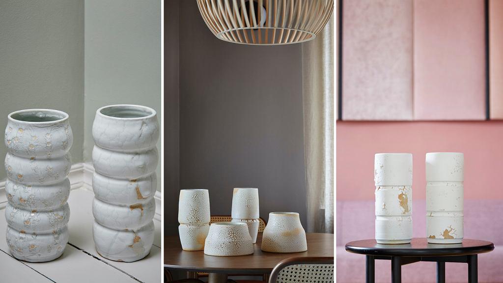 Kolekcja ceramiki 'Errorica', którą zaprojektowała Alicja Patanowska.