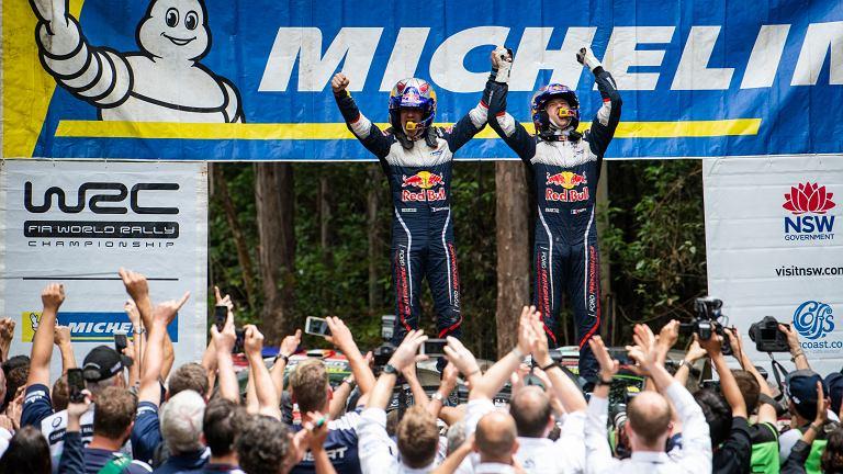 Sebastien Ogier i Julien Ingrassia świętują szósty mistrzowski tytuł