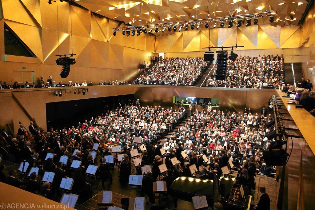 Koncert w Filharmonii im. Mieczysława Karłowicza / CEZARY ASZKIEŁOWICZ
