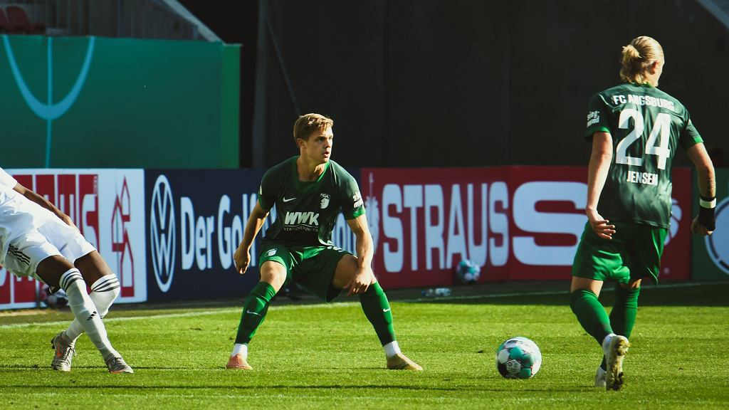 Robert Gumny w barwach Augsburga