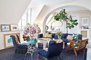 Mieszkanie dekoratorki wnętrz pełne odważnych połączeń