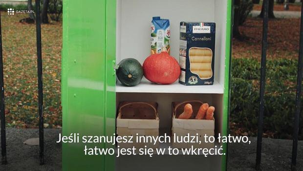 Szafka Jadłodzielnia Ratuszowa na Pradze Północ
