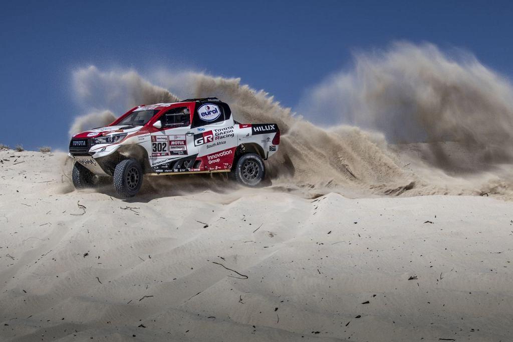 Toyota Gazoo Racing przed Dakarem 2019