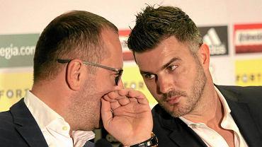 Bogusław Leśnodorski i Michał Żewłakow