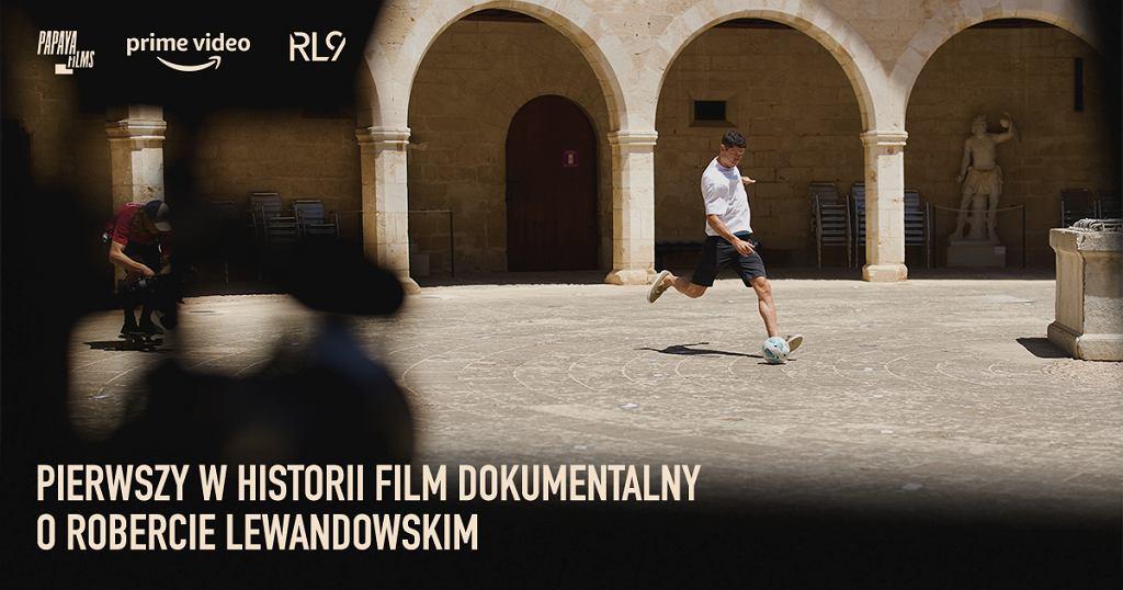 Papaya Films produkuje dla Amazon Prime Video dokument o Robercie Lewandowskim