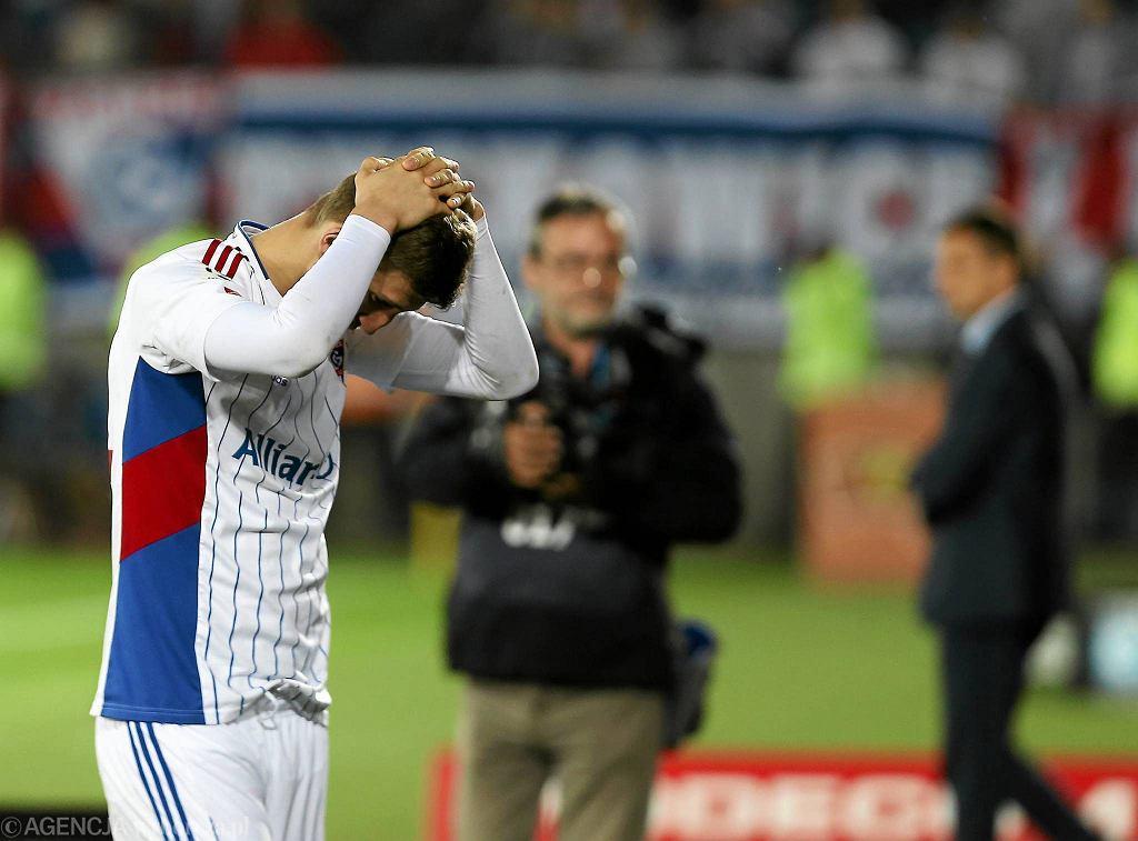 Górnik Zabrze po raz trzeci w historii spadł z ligi