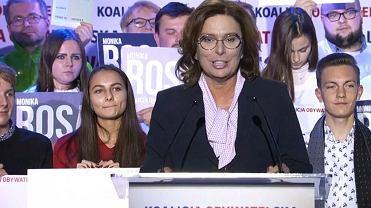 Wybory parlamentarne 2019. Małgorzata Kidawa-Błońska w Chorzowie