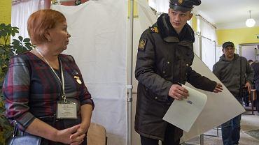 Wybory 'na Putina' na zaanektowanym przez Rosję Krymie. Sewastopol, 18 marca 2018