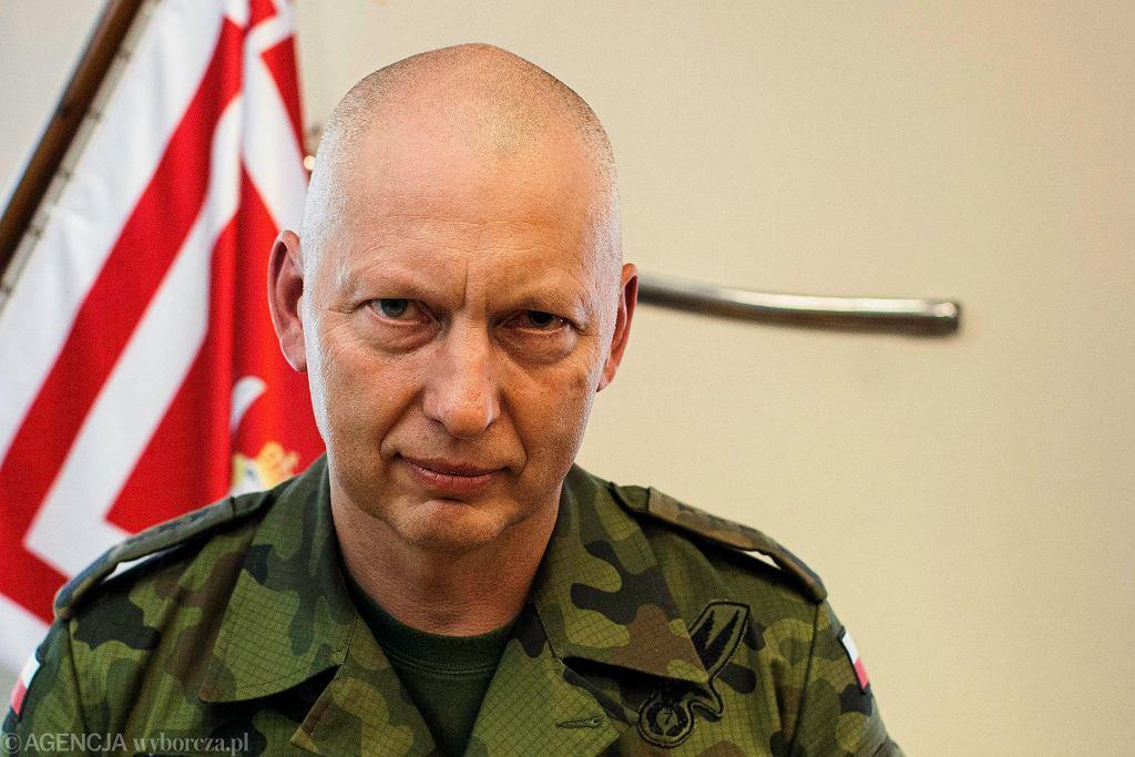 Dowódca Generalny Rodzajów Sił Zbrojnych, generał Mirosław Rożański