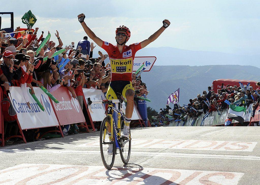 Alberto Contador - trzykrotny zwycięzca Vuelta a Espana