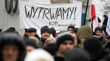 Demonstracja KOD i opozycji pod Sejmem (20.12.2016)