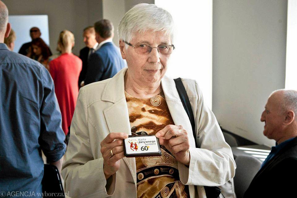 Punkt BKM przy ul. Lipowej. Wydawanie pierwszych Kart Aktywnego Seniora