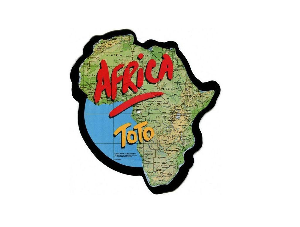 Singiel Africa grupy Toto na winylu