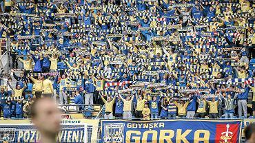 Arka Gdynia - Dolcan Ząbki 0:2. Kibice Arki