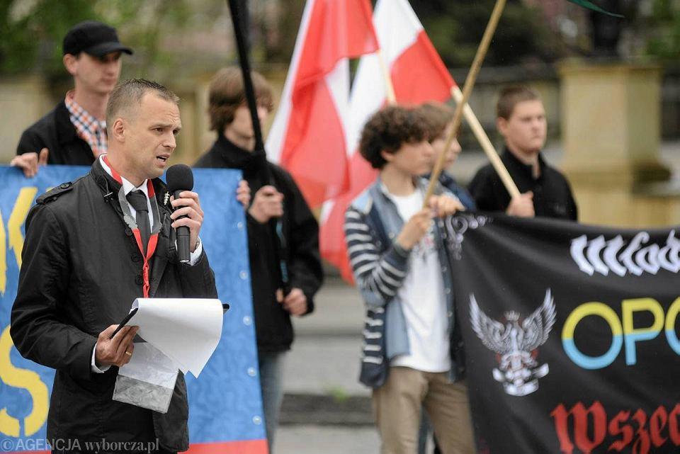 III Opolski Marsz Niepodległości. Przemawia Tomasz Greniuch