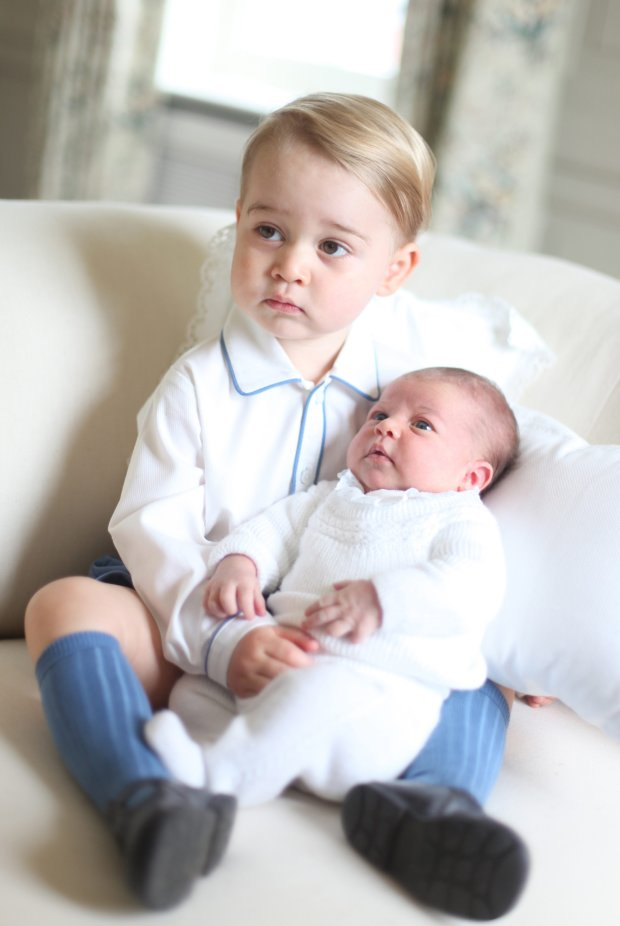 This image made available by Kensington Palace Saturday, June 6, 2015, taken by Kate, Duchess of Cambridge, at Amner Hall, eastern England in mid-May 2015 shows Britain