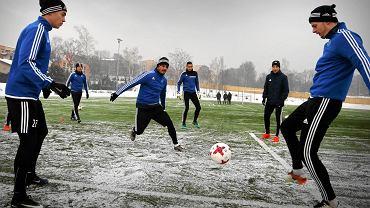 Trening piłkarzy Ruchu Chorzów