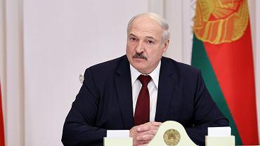 Satrapa Białorusi urzęduje po sfałszowanych wyborach prezydenckich. Miński 27 października 2020