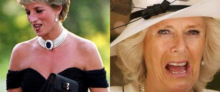 """Księżna Camilla skopiowała słynną """"sukienkę zemsty"""" księżnej Diany. Chciała ją przebić"""